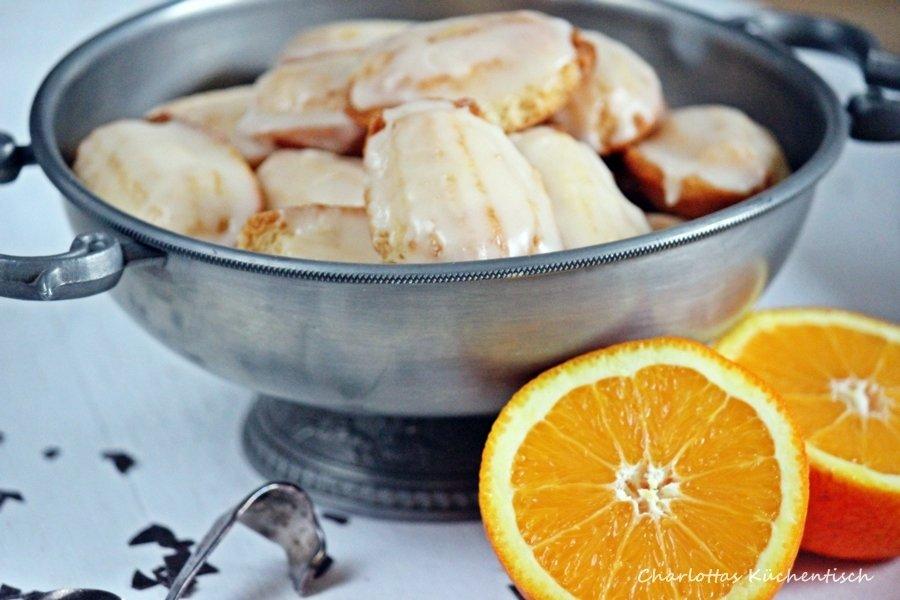 Orangen-Madeleines, Backen, Rezept