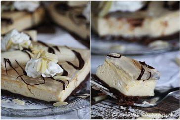 Banana-Split-Kuchen, Käsekuchen Banana-Split, Käsekuchen