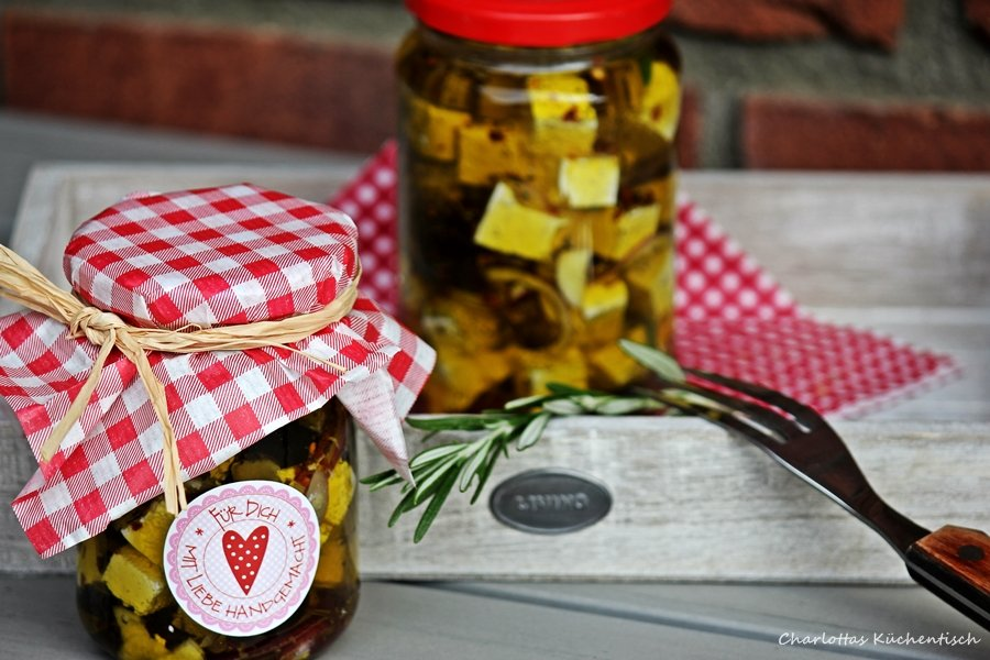 Kochen, Rezept, Feta, Olive, Knoblauch, Geschenke aus der Küche, Grillen, BBQ