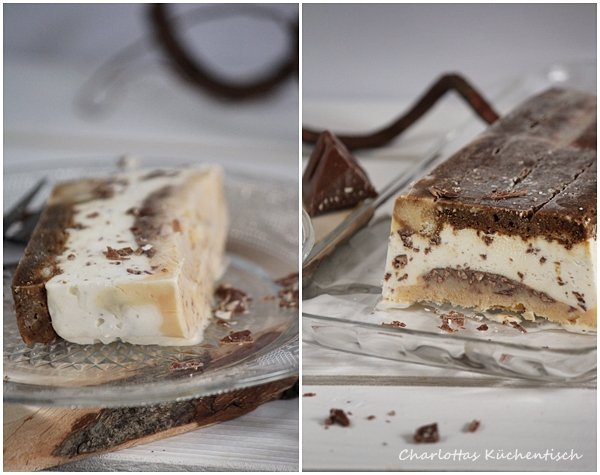 Dessert, Semifreddo, Toblerone, Kaffee, Rezept, Nachspeise,