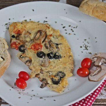 Frühstückstortilla (schmeckt nicht nur zum Frühstück)