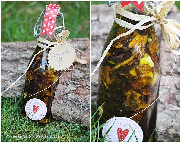 Steinpilze, Öl, Geschenk-aus-der-Küche, Rezept