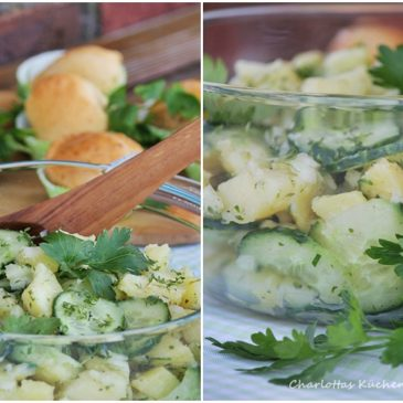 Kartoffel-Gurken-Salat (oder kann man beim Grillen Kalorien sparen?)