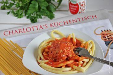 Kochen Rezept Pasta Hackfleisch Tomate