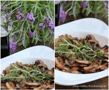 Kochen Rezept Chamignons Grillbeilage