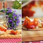 Salsa-Dip, Frischkäse-Dip, Brotaufstrich, BBQUE, Grillbeilage, Rezept, Büffet,