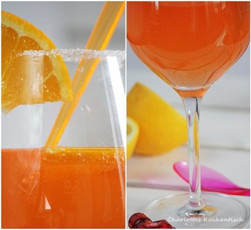 Sommergetränk, Prosecco, Rezept, Eiswürfel