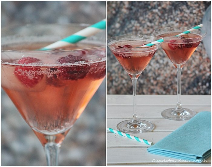 Radler-Himbeer-Cocktail, Sommergetränk, Degustabox Mai 15