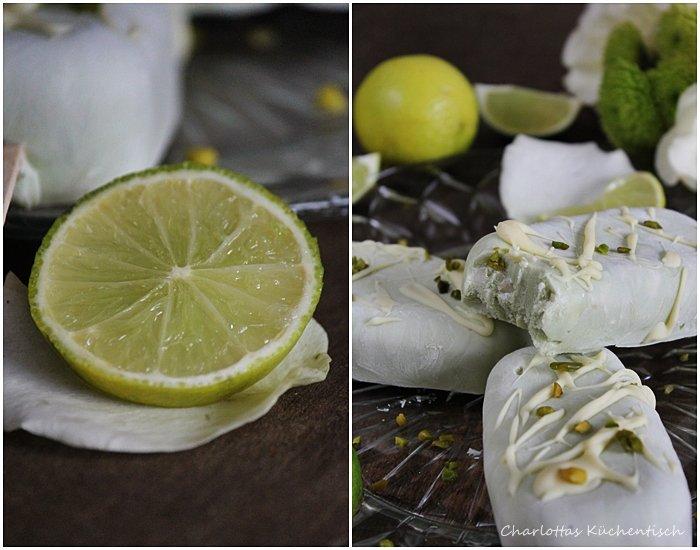 Matcha-Lemon-Quark-Eis, Quark, Rezept, Eis
