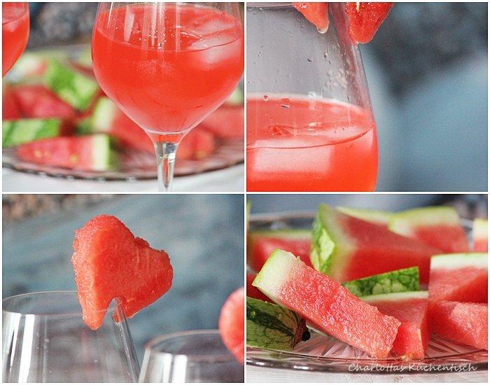Pinkgrapefruit-Weißwein-Schorle