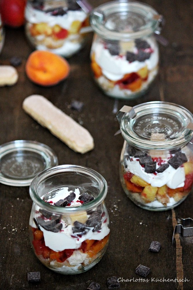 Degustabox, Dessert, Früchtetraum, Quarkmousse, Grapefruit, Ananas, lecker, Rezept, Früchtetraum mit Quarkmousse,