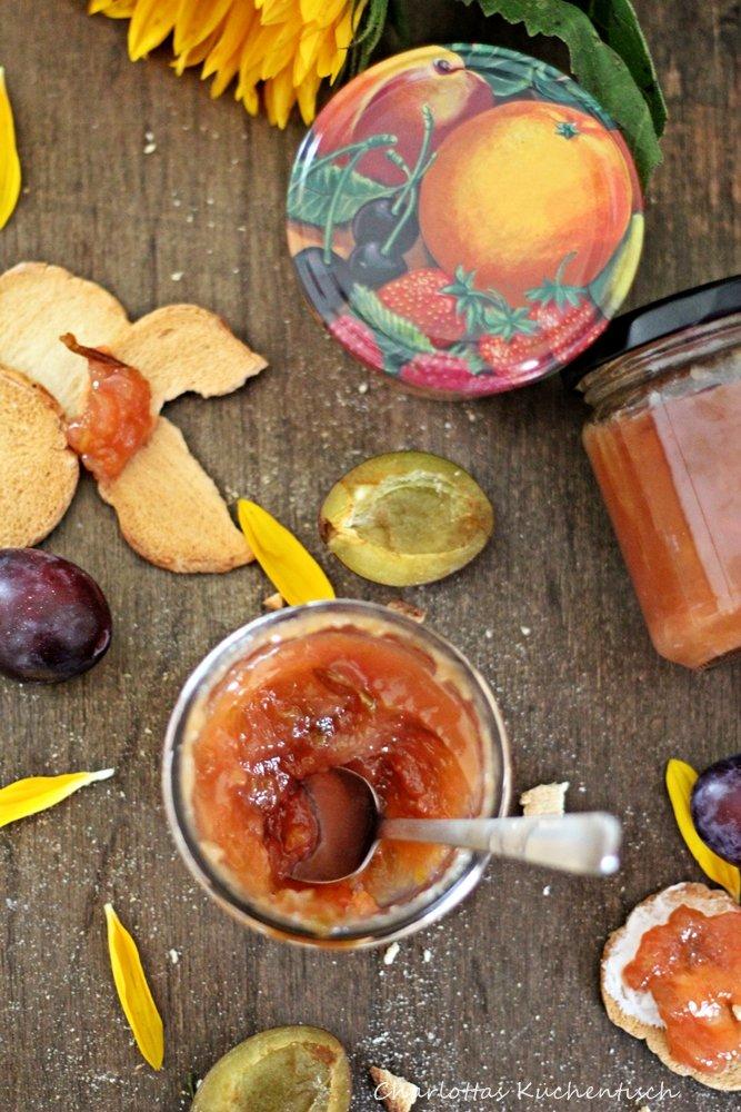 Plaumen-Ananas-Marmelade 1