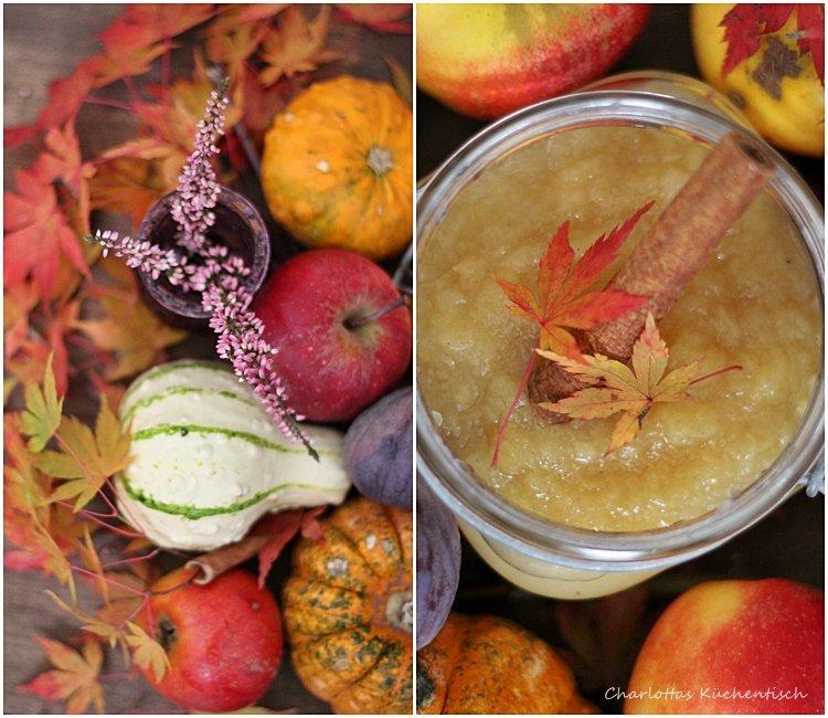 Apfelmus, Apfelkompott, Herbst, Äpfel, Geschenke aus der Küche