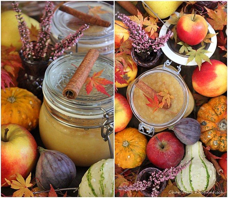 Apfelmus, Äpfel, Herbst, Apfelkompott, Geschenke aus der Küche