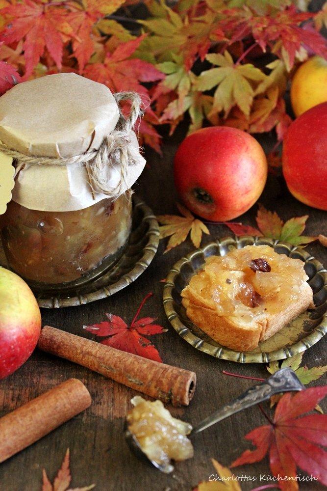 Bratapfelmarmelade, Brotaufstrich, Marmelade, Geschenke aus der Küche, Rezept, Bratapfel