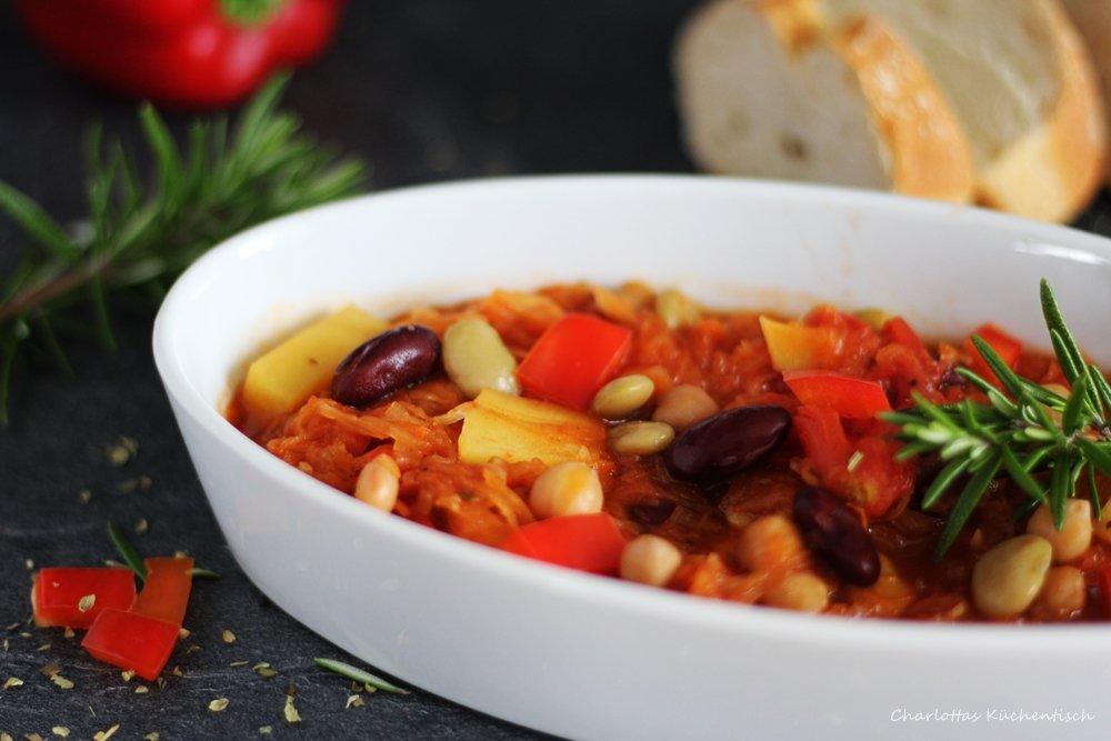 Sauerkraut-Kichererbsen-Suppe, Rezept, Kochen, Partysuppe, lecker