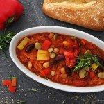 Sauerkrautsuppe, Sauerkraut-Kichererbsensuppe, Degustabox, Suppe, Kochen, Rezept