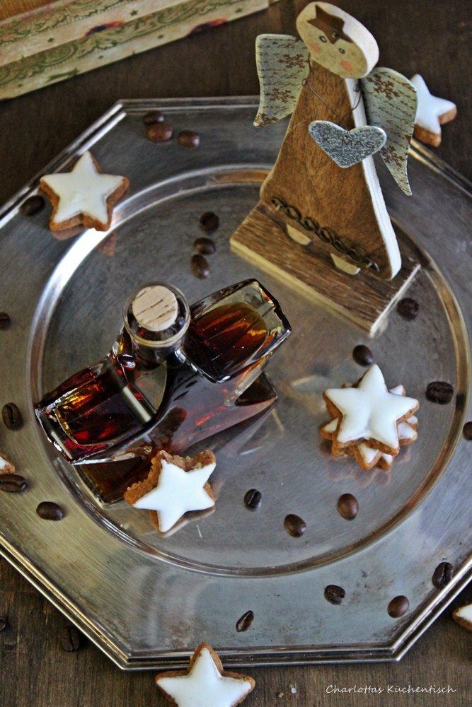 Kaffeelikör , Likör, Geschenk aus der Küche, homemade, Rezept, lecker