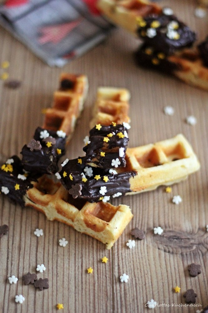 Degustabox November, Waffeln, Waffelsticks, Baileys, Rezept, Backen, Waffles