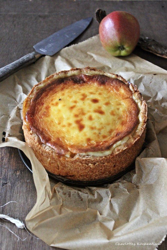 Apfel Schmand Kuchen 1 Charlottas Kuchentisch