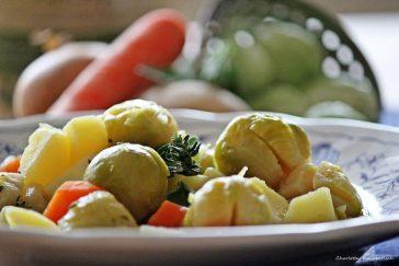 Rosenkohleintopf, Eintopf, Rosenkohlsuppe, Rosenkohl, Kartoffeln