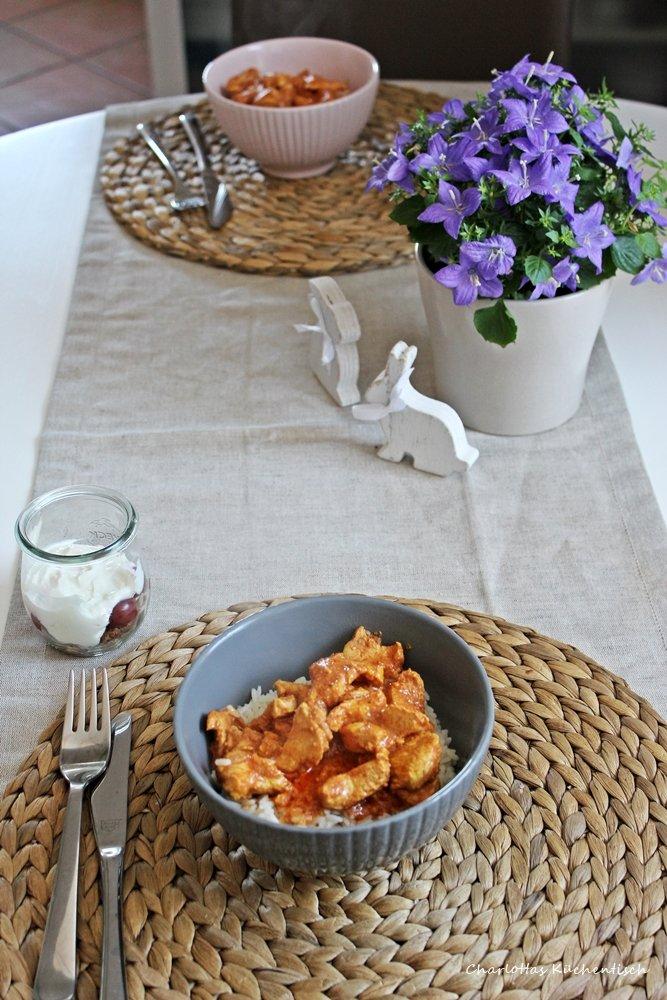 12 von 12, Blogevent, Kochen, Chicken Tikka Masala
