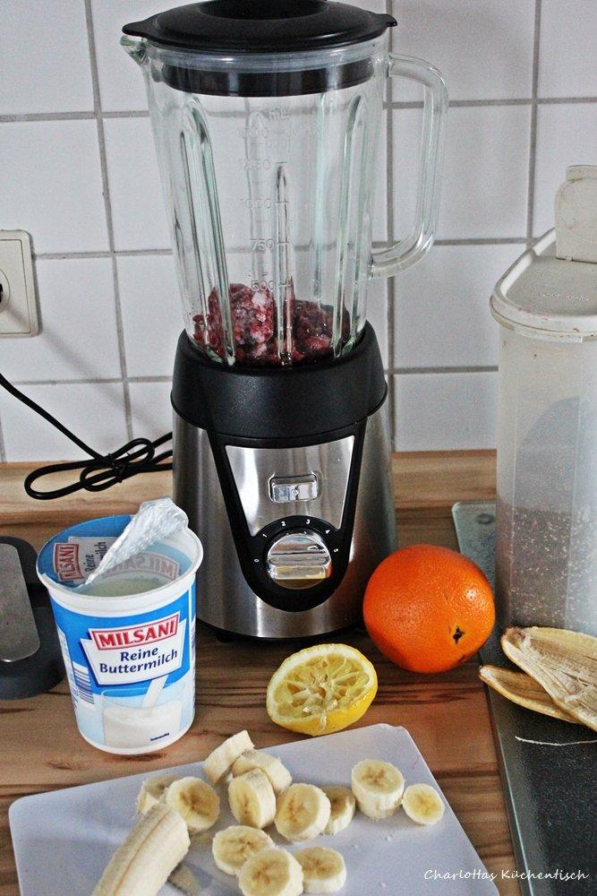 12 vn 12, Blogevent, Smoothie, Frühstück