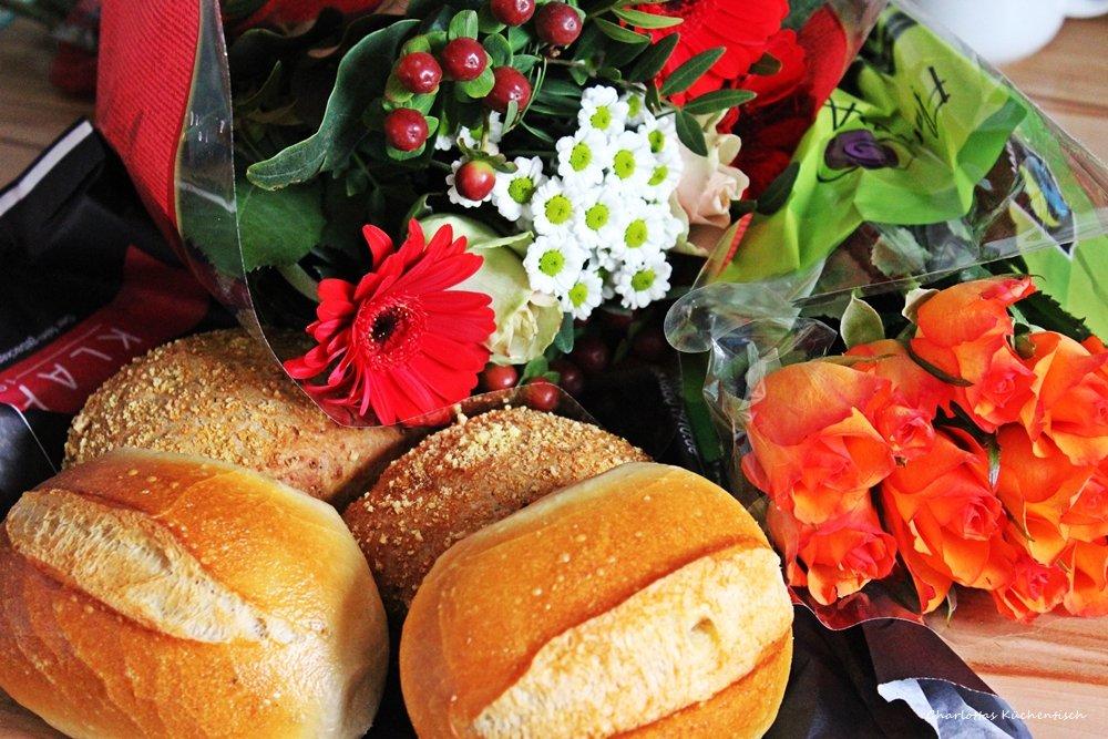 12 von 12, Blogevent, Frühstück, Blumen