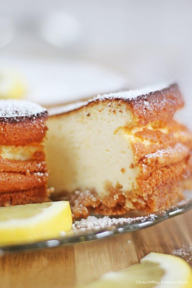 Zitronencheesecake, Käsekuchen, Cheesecake, Rezept, ZItrone, Quark