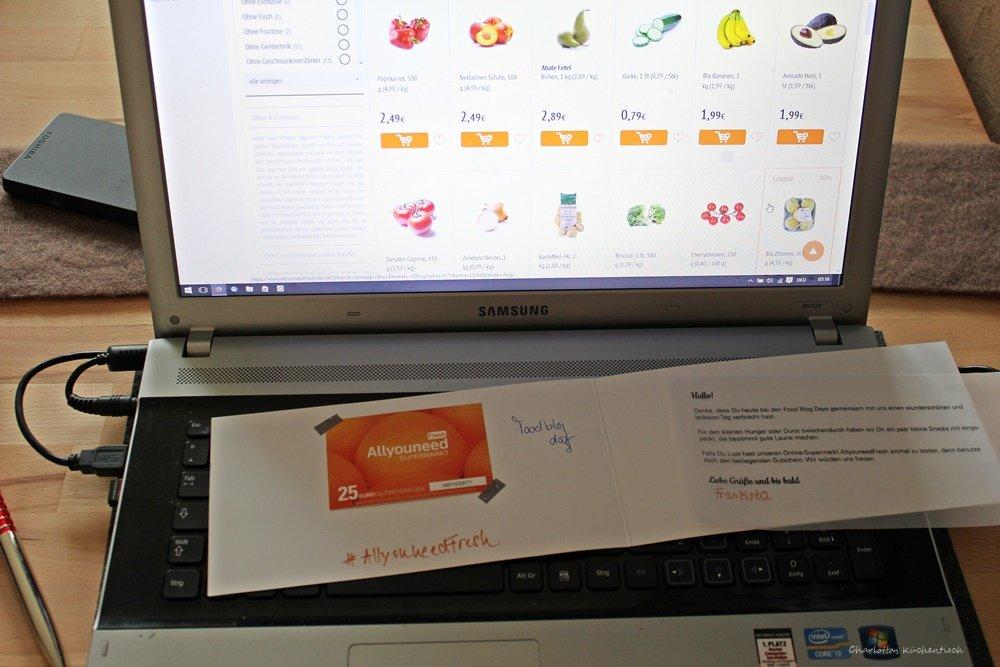 Bestellung Allyou can need fresh, 12 von 12, 12v12