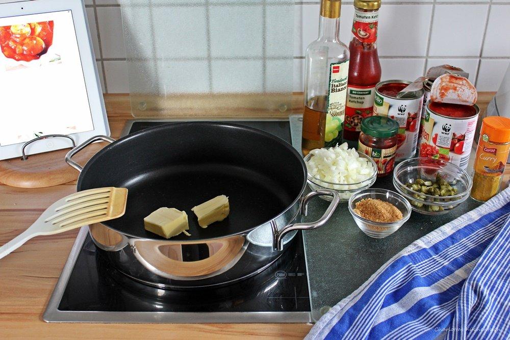 12 von 12, 12v12, Kochen, Currywurst, EM