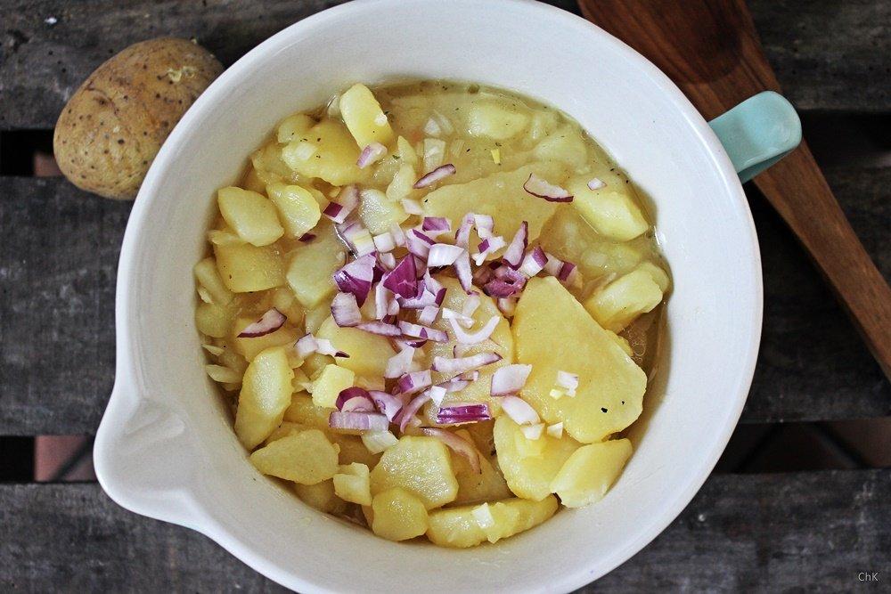 Erdäpfelsalat, Marillenmarmelade, Aprikosenmarmelade, Marmelade einkochen, Buchrezension, Wiener Küche