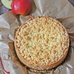 Apfelmus Streuselkuchen, Streuselkuchen, Apfelmuskuchen, Apfelmus, Backen, Kuchen, Rezept, Schneller Kuchen