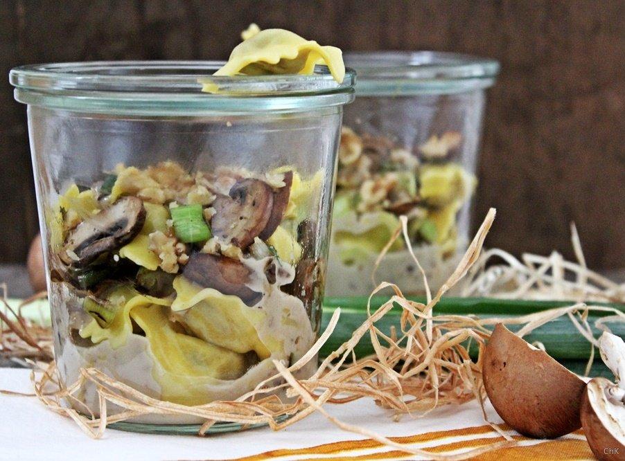 Ravioli Funghi, Pasta, Kochen, Gorgonzola Sauce, Giovanni Rana