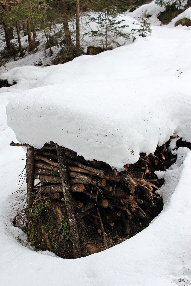 Ridnauntal Holzstoß