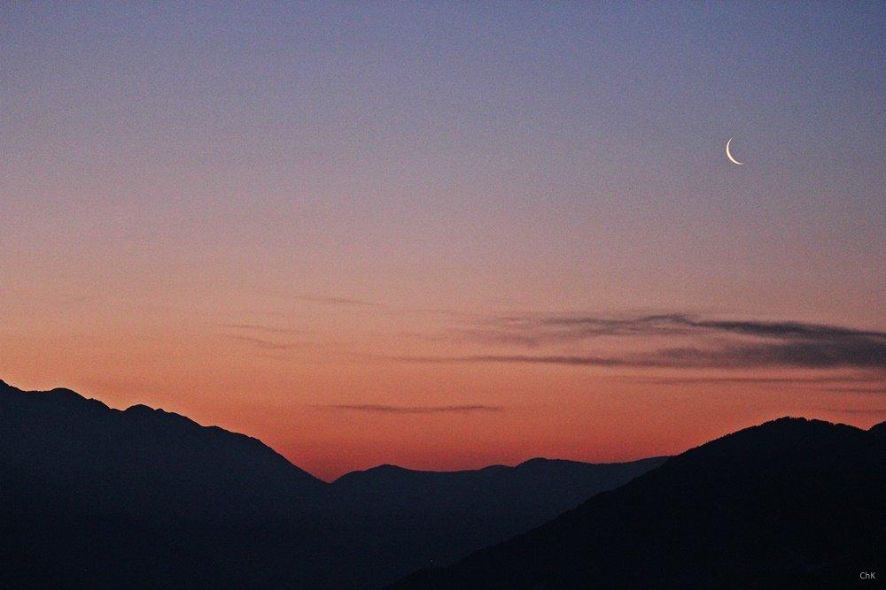 Ridnauntal Sonnenaufgang