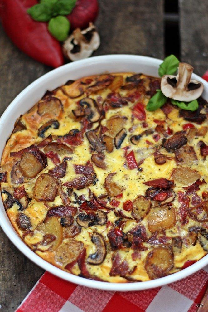 Tortilla Chorizo - Tapas-Ideen für einen spanischen Abend ...