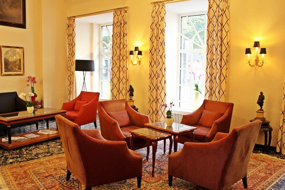 Sitzbereich Hotel Stefanie Wien