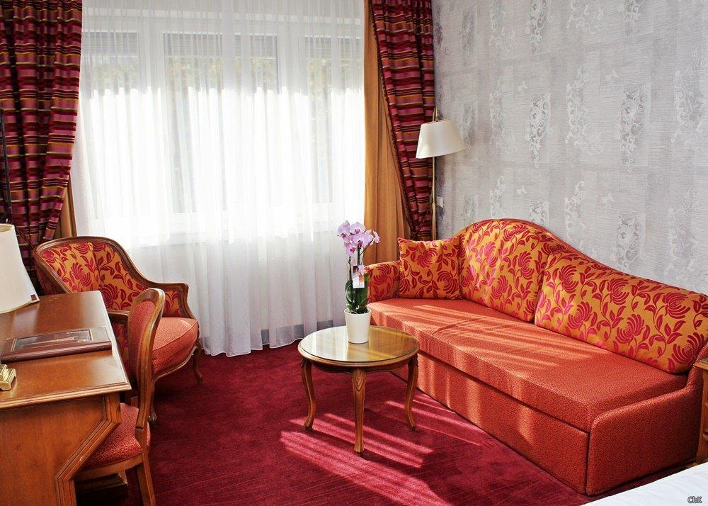 Sitzecke Hotel Stefanie Wien