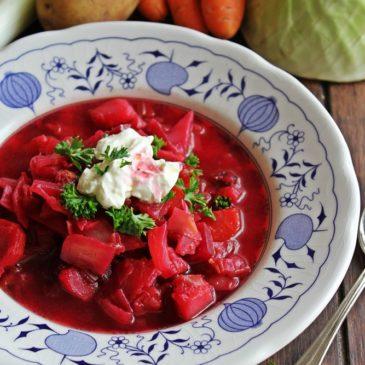 Borschtschsuppe – Herzhafte Winterküche