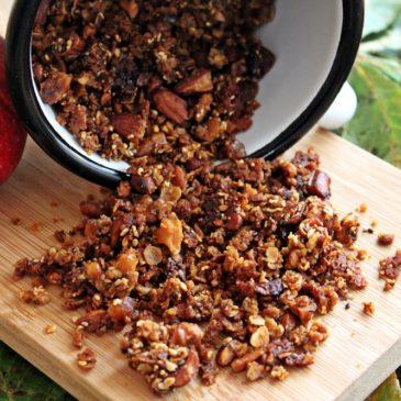 Knuspermüsli – schmeckt herrlich nach Bratapfel