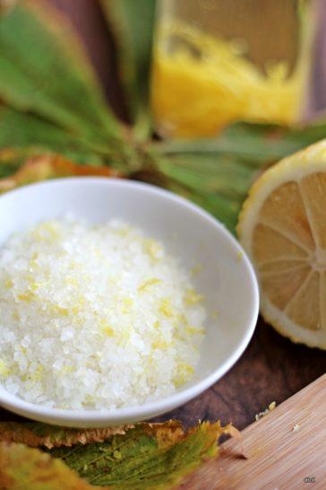 Zitronensalz, Geschenk aus der Küche,