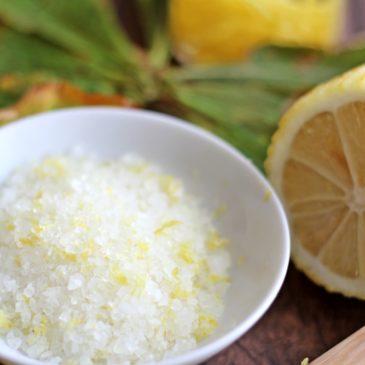 Zitronensalz – Würzen und Schenken mit Pfiff