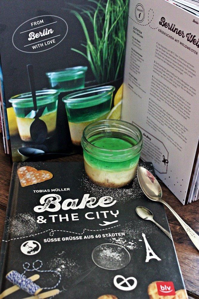 Bake & The City, Käsekuchen mit Waldmeister, Berliner Weiße