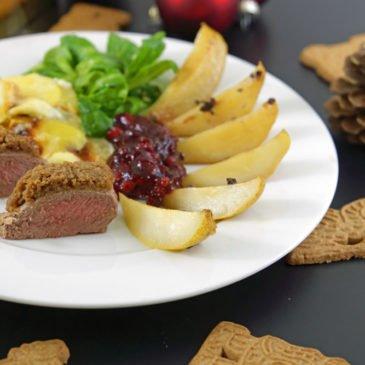 """""""Weihnachten ist überall"""" –  Spekulatius Weihnachtsmenü von """"Mimis Foodblog"""""""
