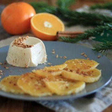 """""""Weihnachten ist überall"""" – Panna Cotta mit Orangen und Nusskrokant von Keks & Koriander (Gastbeitrag)"""