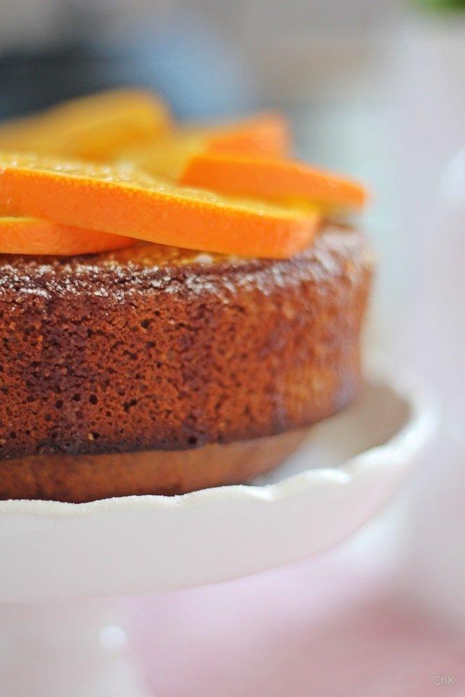 Orangen Mandel Kuchen , saftiger Kuchen, Backen, Rezept, Orangen, Mandeln