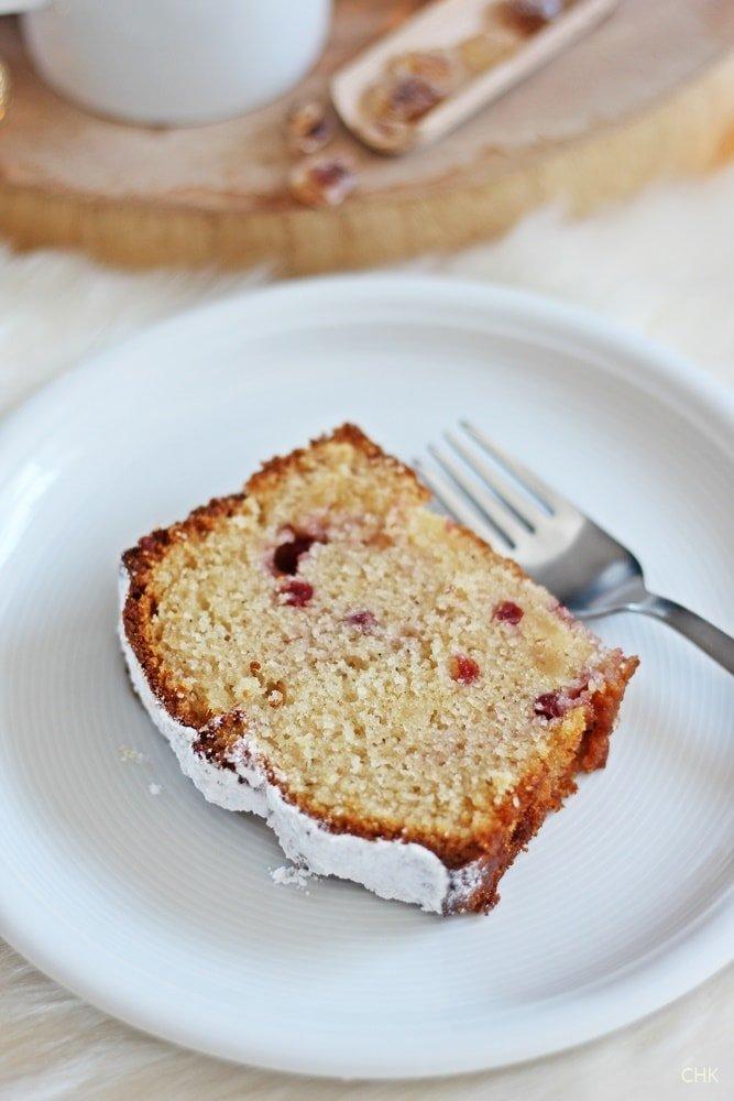 Sekt Marzipan Kuchen, Sektkuchen, Marzipankuchen, Wildpreiselbeeren, Kuchen, Backen
