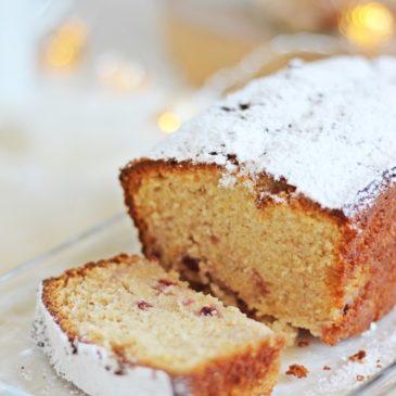Sekt Marzipan Kuchen mit Wildpreiselbeeren – oder Resteverwertung