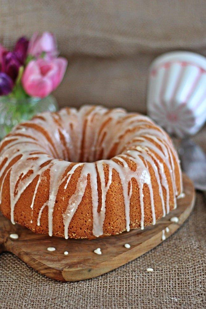 Vanille Eierlikör Kuchen, Backen, Gugelhupf, Eierlikörkuchen, lecker